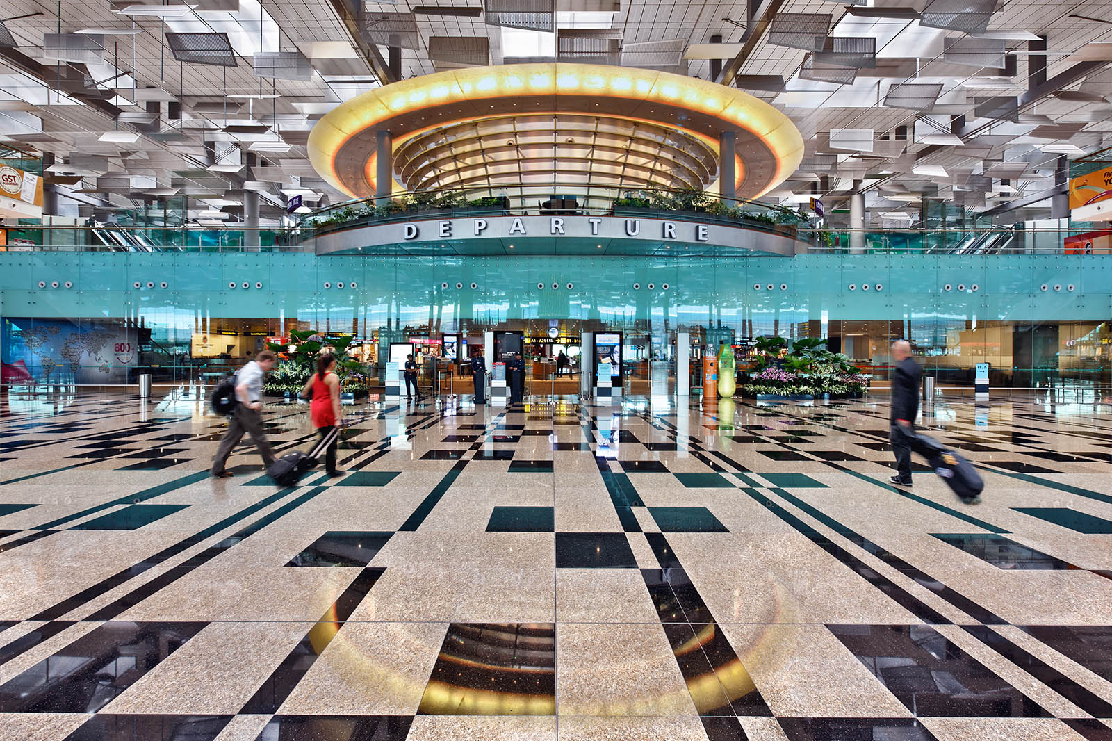 Architectural photography of Terminal 3 Singapore Changi International Airport. photo © Paul Dingman 2012. Paul Dingman is an architectural photographer based in Asia in China. He is an specialist in the photography of large scale projects including convention centers, mixed-use, and airports.