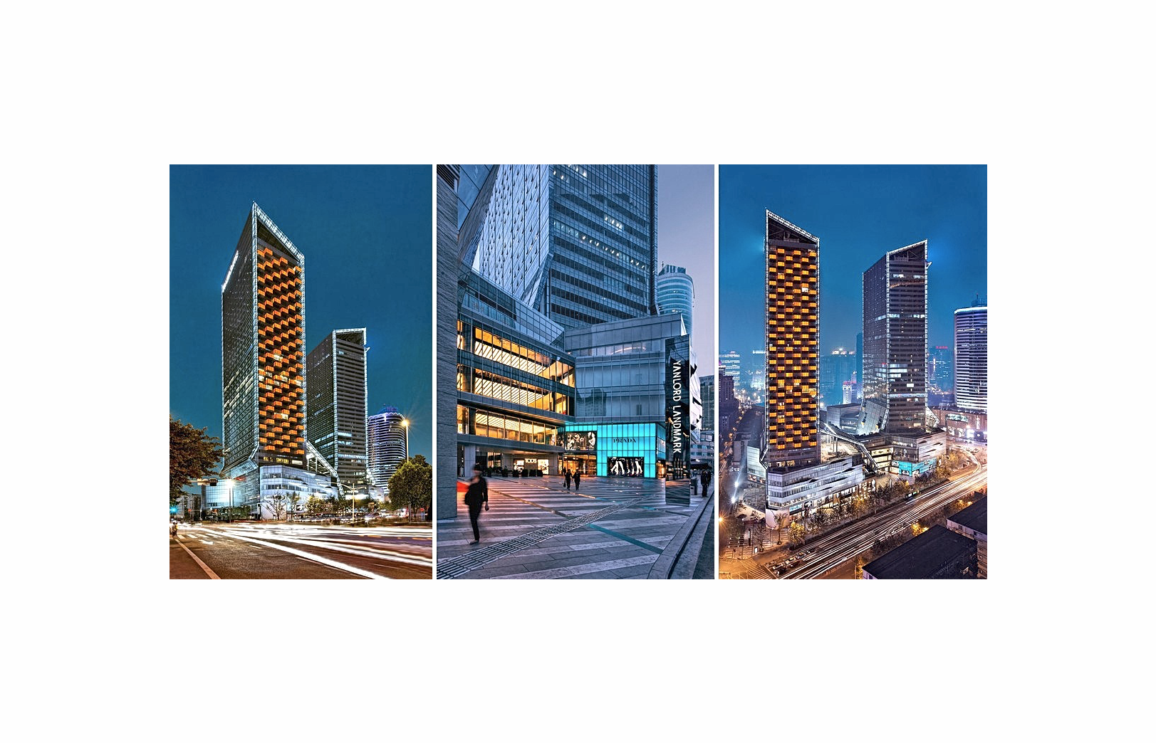 Architectural photography of mixed-use projects in China and Asia by Paul Dingman, architectural photographer serving China, Asia, Dubai, and the Middle East.