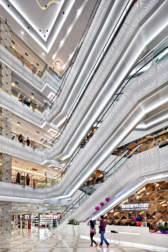 Architectural photography of retail malls in China and Asia