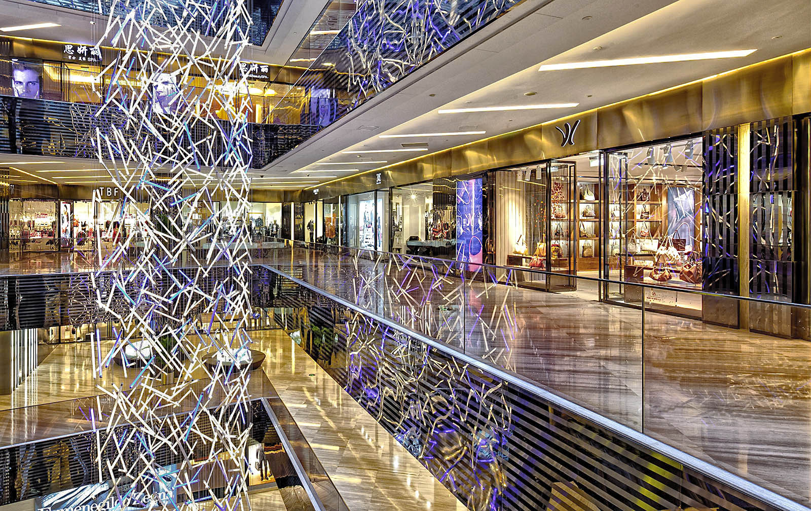 Interior and exterior architectural photography for architects of retail malls and stores in China, Asia, and the USA by Paul Dingman, architectural photographer