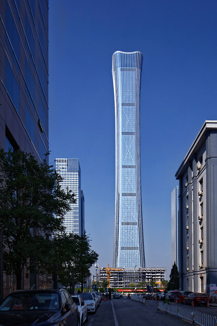 Architectural photography of super tall buildings in China and Asia