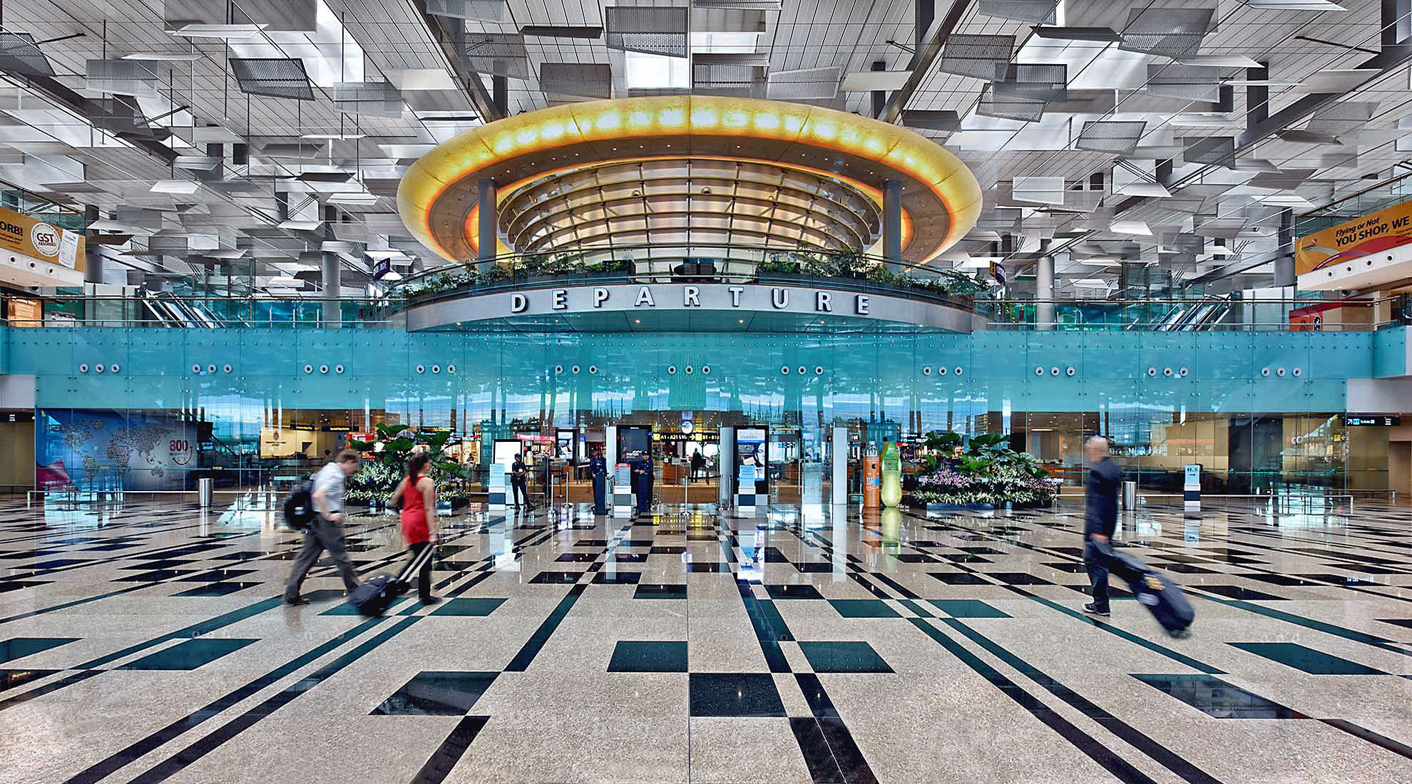 Architectural Photography of airports and transportation.